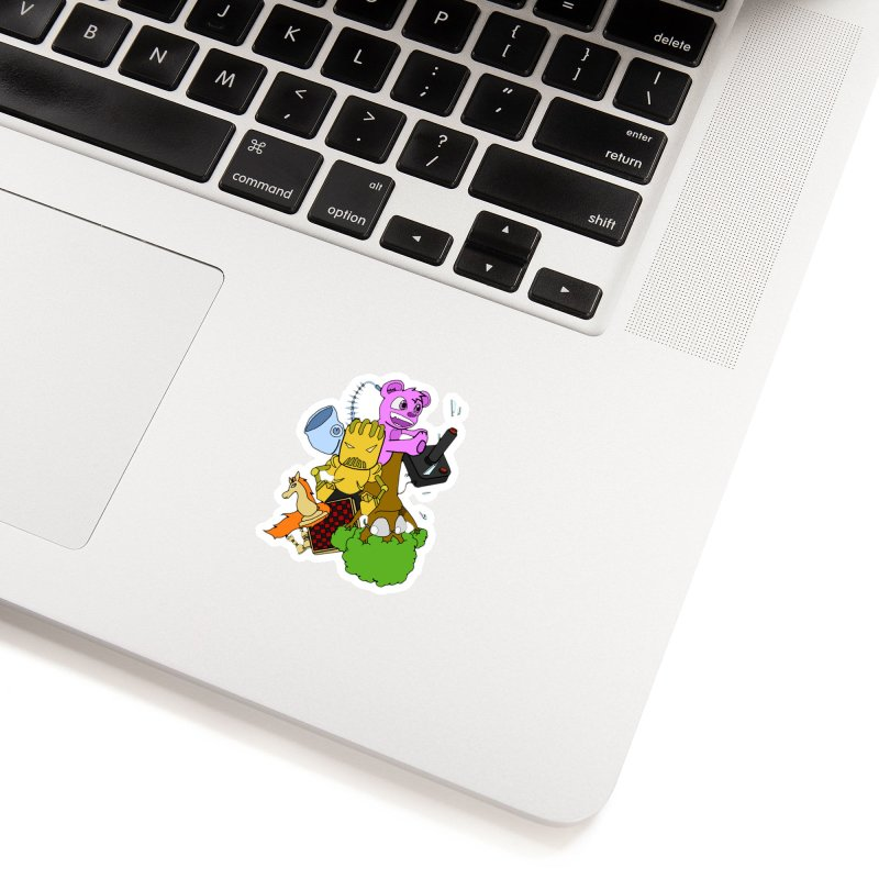 Boom-Box Clap! Accessories Sticker by Shadeprint's Artist Shop