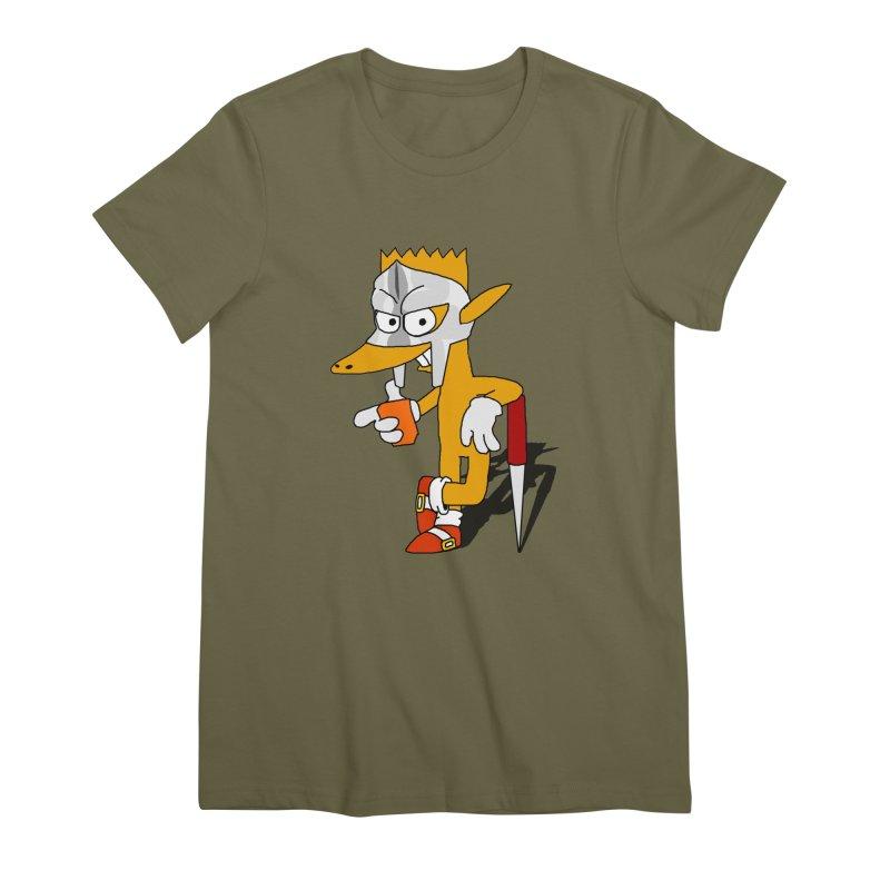 Lil' Qurt Women's Premium T-Shirt by Shadeprint's Artist Shop