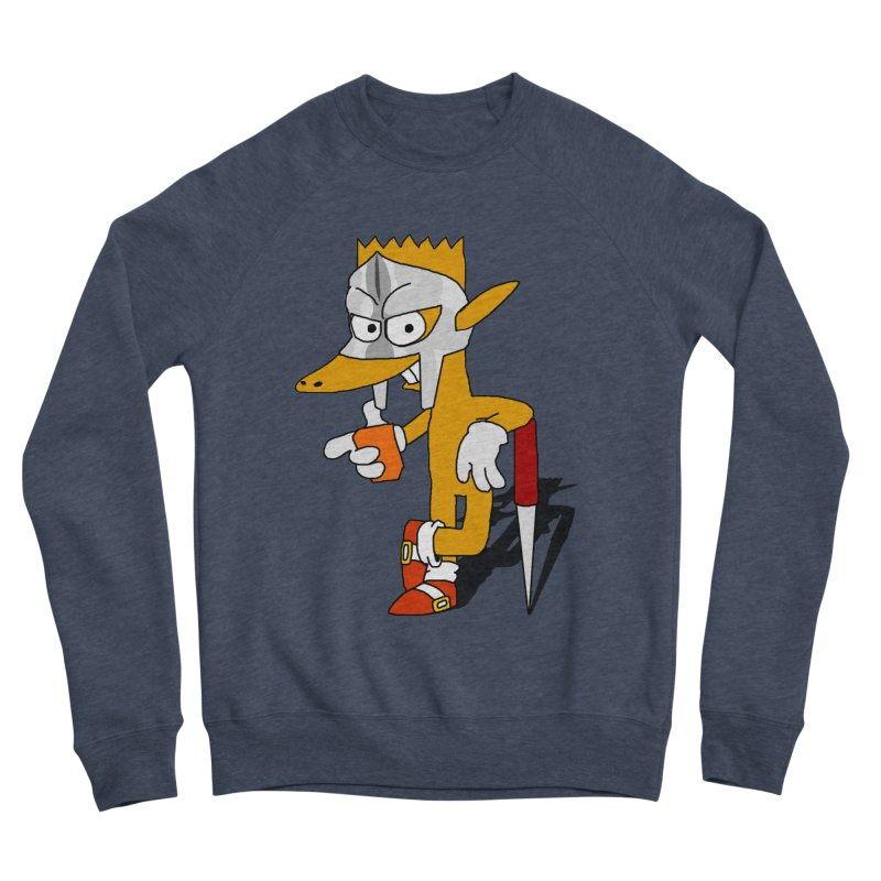 Lil' Qurt Men's Sponge Fleece Sweatshirt by Shadeprint's Artist Shop