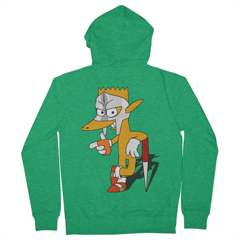 Lil' Qurt Men's French Terry Zip-Up Hoody by Shadeprint's Artist Shop