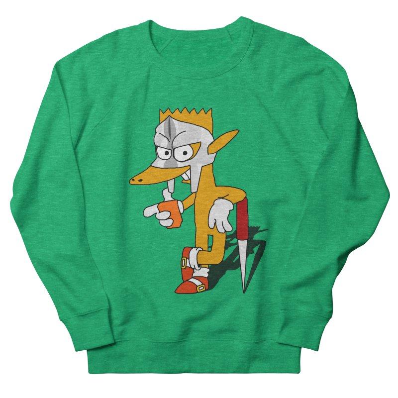 Lil' Qurt Men's French Terry Sweatshirt by Shadeprint's Artist Shop