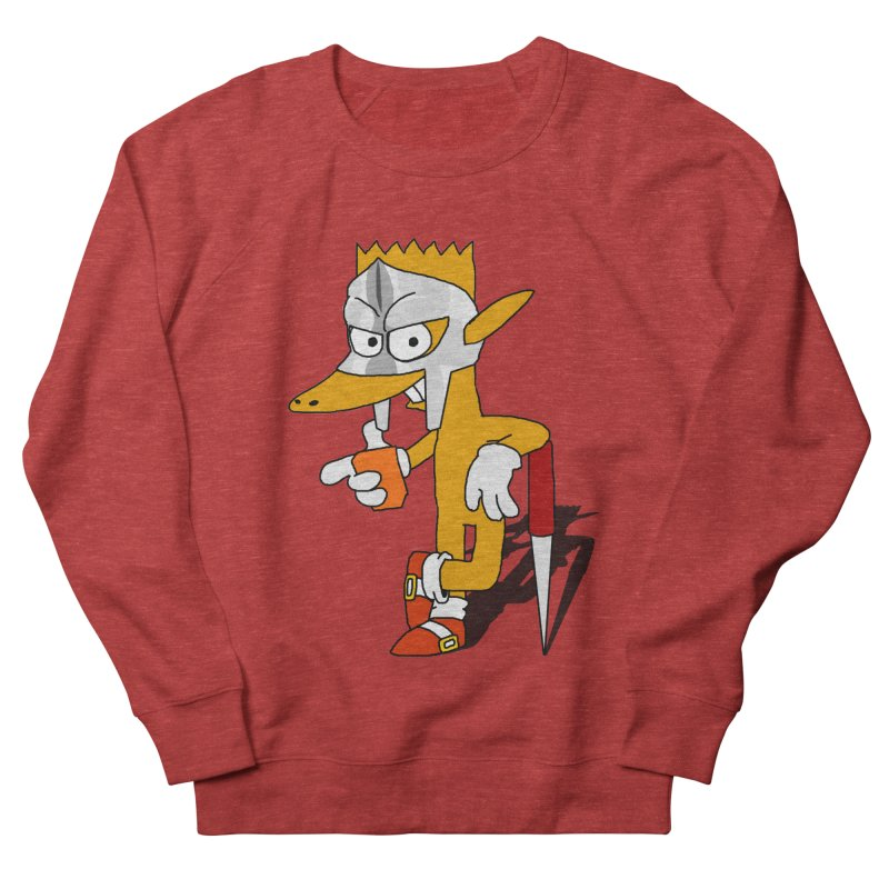 Lil' Qurt Men's French Terry Sweatshirt by Shadeprint's Artist Shop