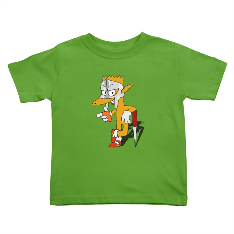 Lil' Qurt Kids Toddler T-Shirt by Shadeprint's Artist Shop
