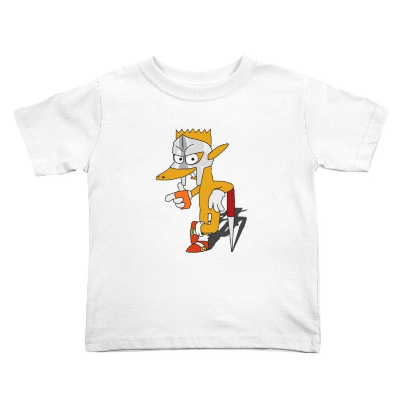 Lil' Qurt Kids Toddler T-Shirt by Shadeprint's Artist Shop