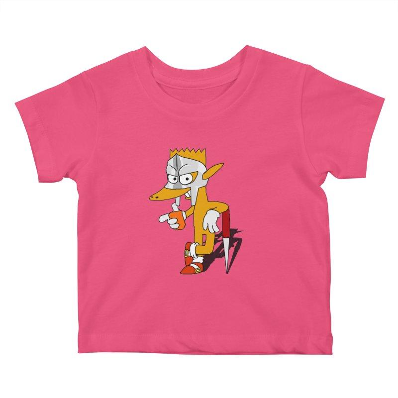 Lil' Qurt Kids Baby T-Shirt by Shadeprint's Artist Shop