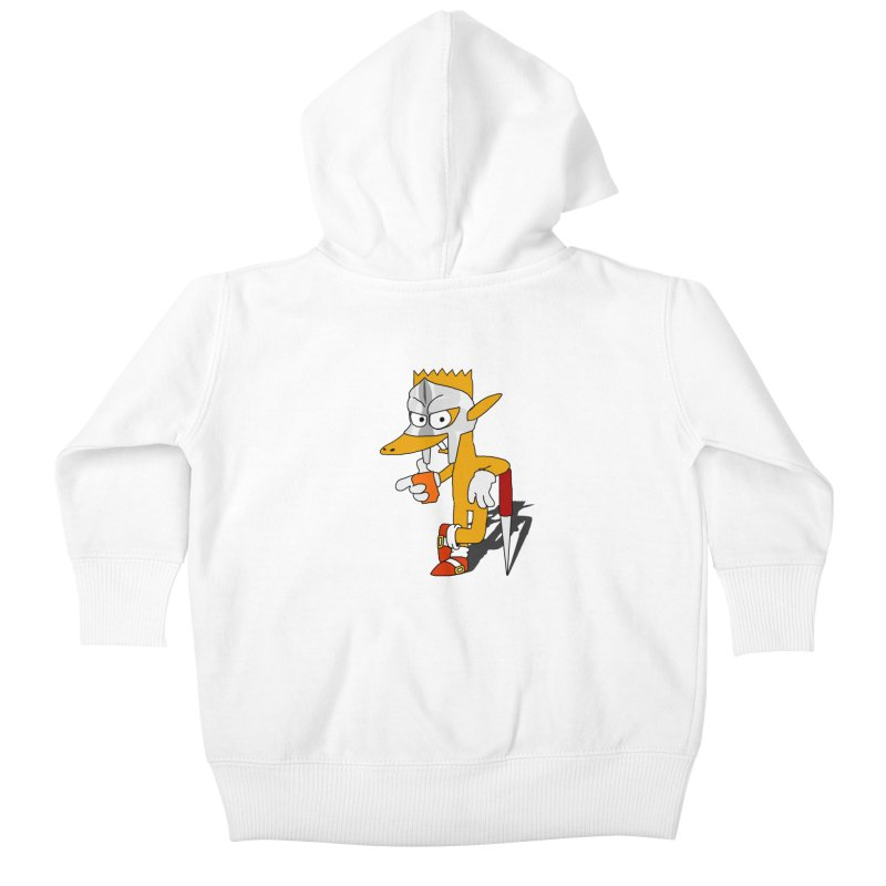 Lil' Qurt Kids Baby Zip-Up Hoody by Shadeprint's Artist Shop