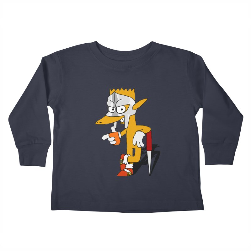 Lil' Qurt Kids Toddler Longsleeve T-Shirt by Shadeprint's Artist Shop