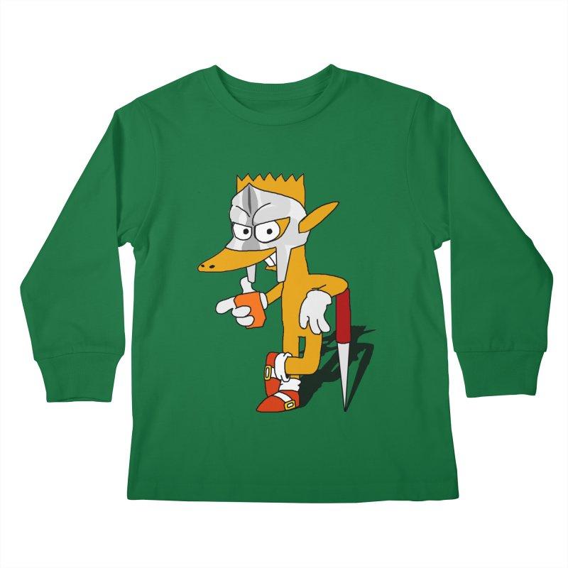 Lil' Qurt Kids Longsleeve T-Shirt by Shadeprint's Artist Shop