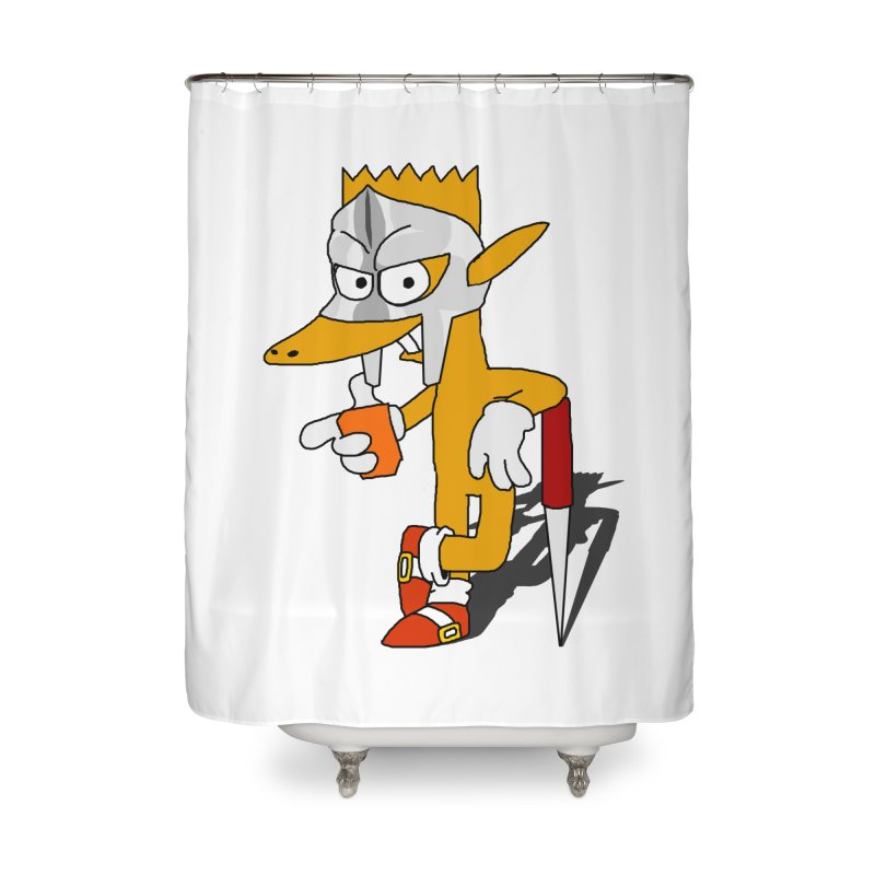 Lil' Qurt Home Shower Curtain by Shadeprint's Artist Shop