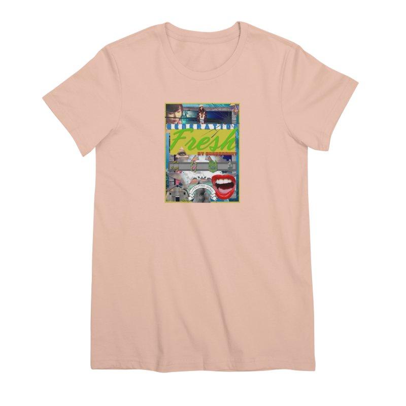 GENERATION Fresh! Women's Premium T-Shirt by Shadeprint's Artist Shop