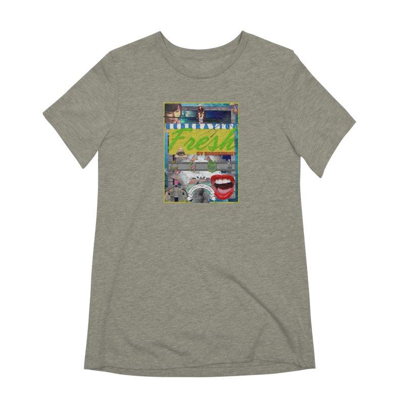 GENERATION Fresh! Women's Extra Soft T-Shirt by Shadeprint's Artist Shop