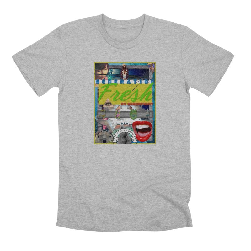 GENERATION Fresh! Men's Premium T-Shirt by Shadeprint's Artist Shop