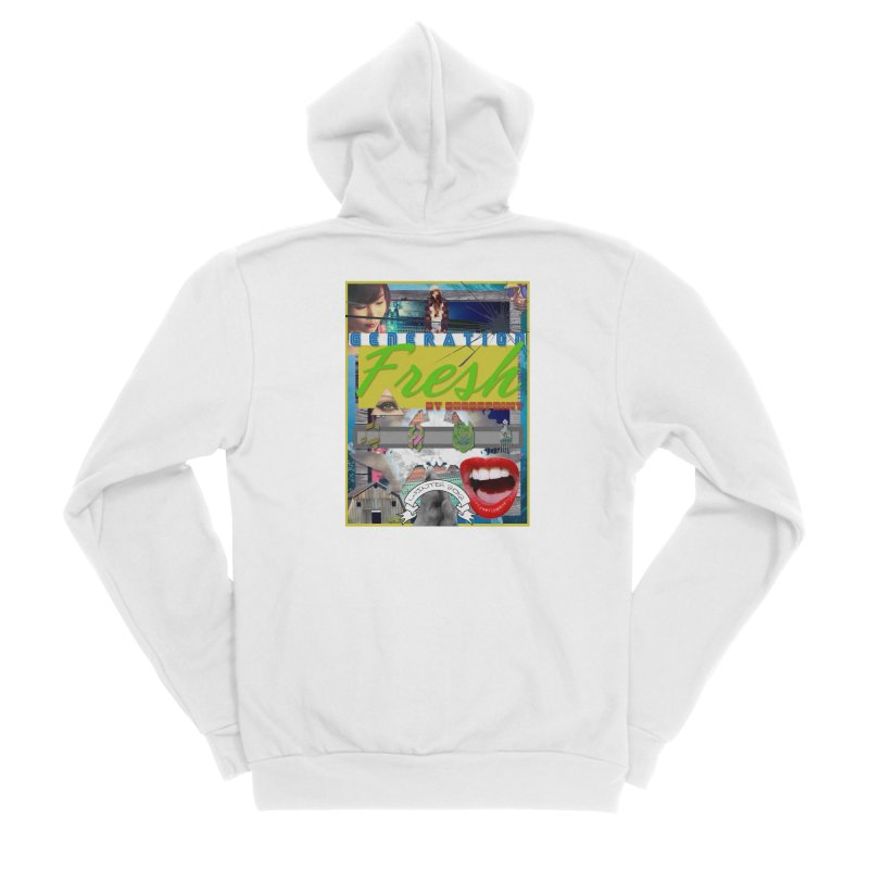 GENERATION Fresh! Women's Sponge Fleece Zip-Up Hoody by Shadeprint's Artist Shop