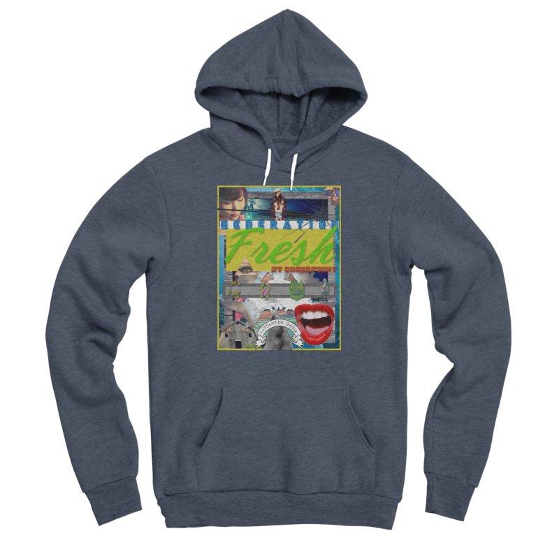 GENERATION Fresh! Men's Sponge Fleece Pullover Hoody by Shadeprint's Artist Shop