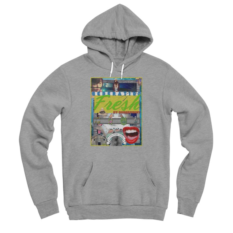 GENERATION Fresh! Women's Sponge Fleece Pullover Hoody by Shadeprint's Artist Shop