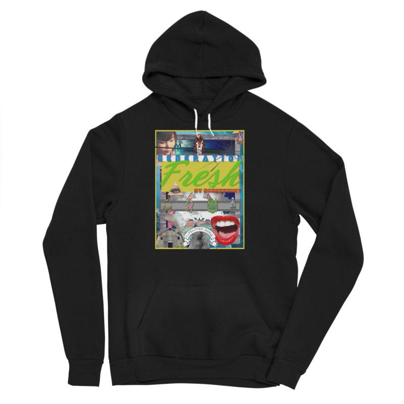 GENERATION Fresh! Men's Sponge Fleece Pullover Hoody by Shadeprint's Artist Shop