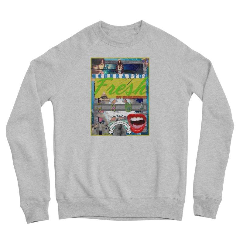 GENERATION Fresh! Men's Sponge Fleece Sweatshirt by Shadeprint's Artist Shop