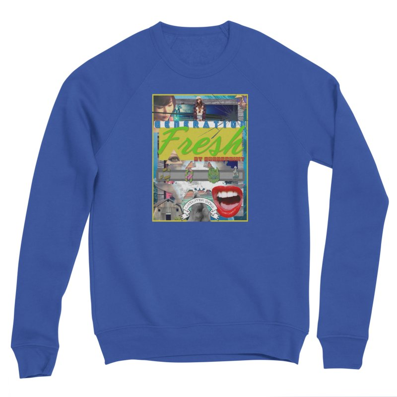 GENERATION Fresh! Men's Sponge Fleece Sweatshirt by Shadeprint's Artist Shop
