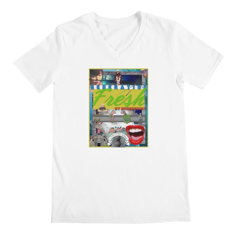GENERATION Fresh! Men's V-Neck by Shadeprint's Artist Shop