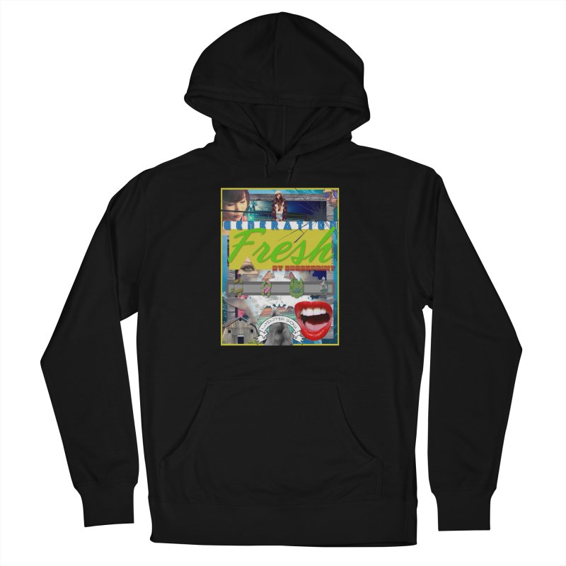 GENERATION Fresh! Men's French Terry Pullover Hoody by Shadeprint's Artist Shop