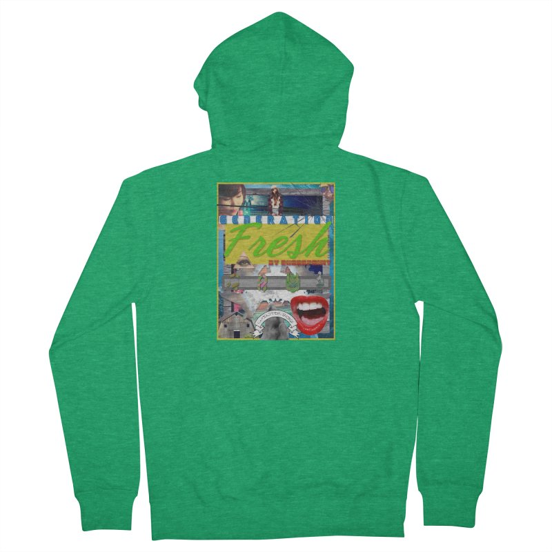 GENERATION Fresh! Men's Zip-Up Hoody by Shadeprint's Artist Shop