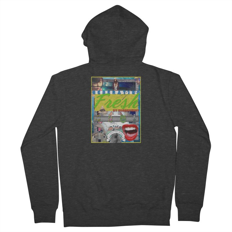 GENERATION Fresh! Men's French Terry Zip-Up Hoody by Shadeprint's Artist Shop