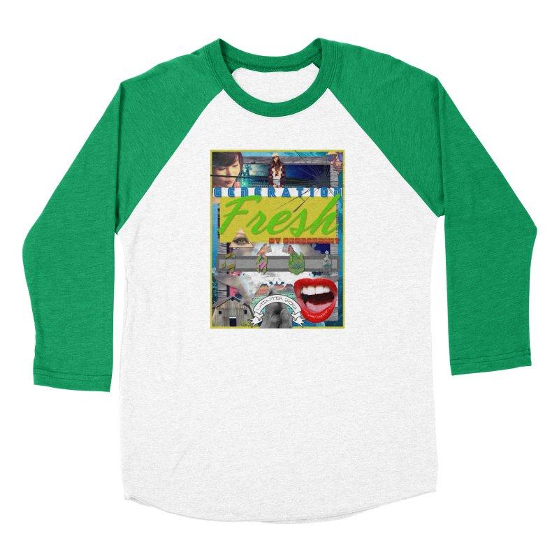 GENERATION Fresh! Women's Baseball Triblend Longsleeve T-Shirt by Shadeprint's Artist Shop