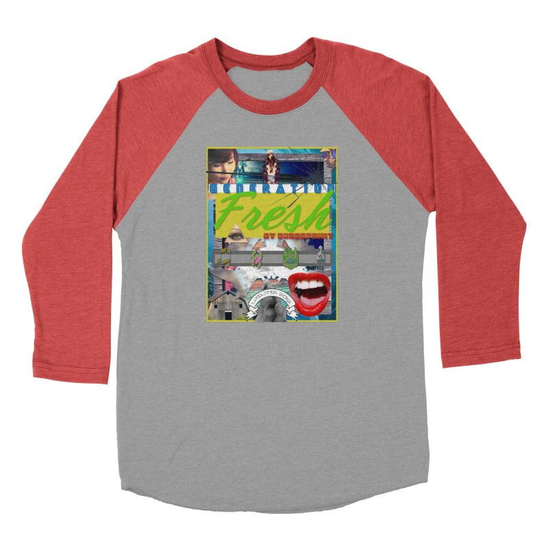 GENERATION Fresh! Men's Baseball Triblend Longsleeve T-Shirt by Shadeprint's Artist Shop
