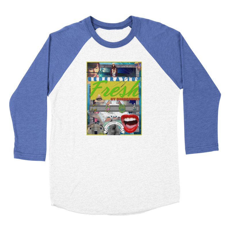 GENERATION Fresh! Men's Baseball Triblend Longsleeve T-Shirt by Shadeprint's Artist Shop