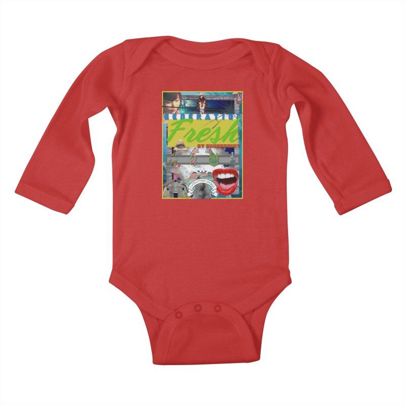 GENERATION Fresh! Kids Baby Longsleeve Bodysuit by Shadeprint's Artist Shop