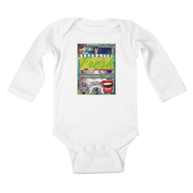 GENERATION Fresh! Kids Baby Longsleeve Bodysuit by Shadeprint's Artist Shop