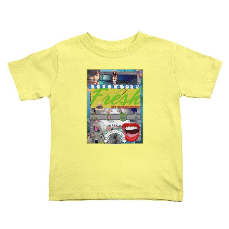 GENERATION Fresh! Kids Toddler T-Shirt by Shadeprint's Artist Shop
