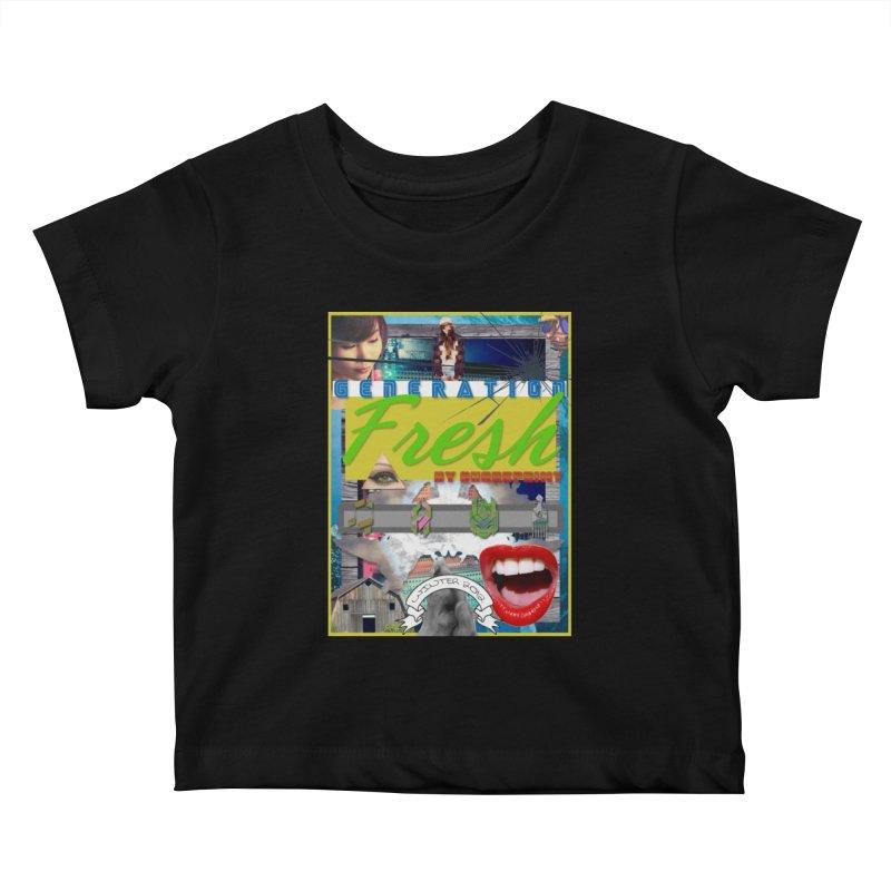 GENERATION Fresh! Kids Baby T-Shirt by Shadeprint's Artist Shop