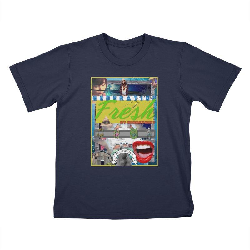 GENERATION Fresh! Kids T-Shirt by Shadeprint's Artist Shop