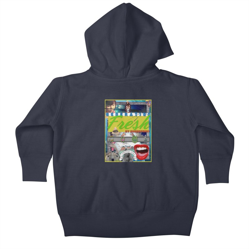 GENERATION Fresh! Kids Baby Zip-Up Hoody by Shadeprint's Artist Shop