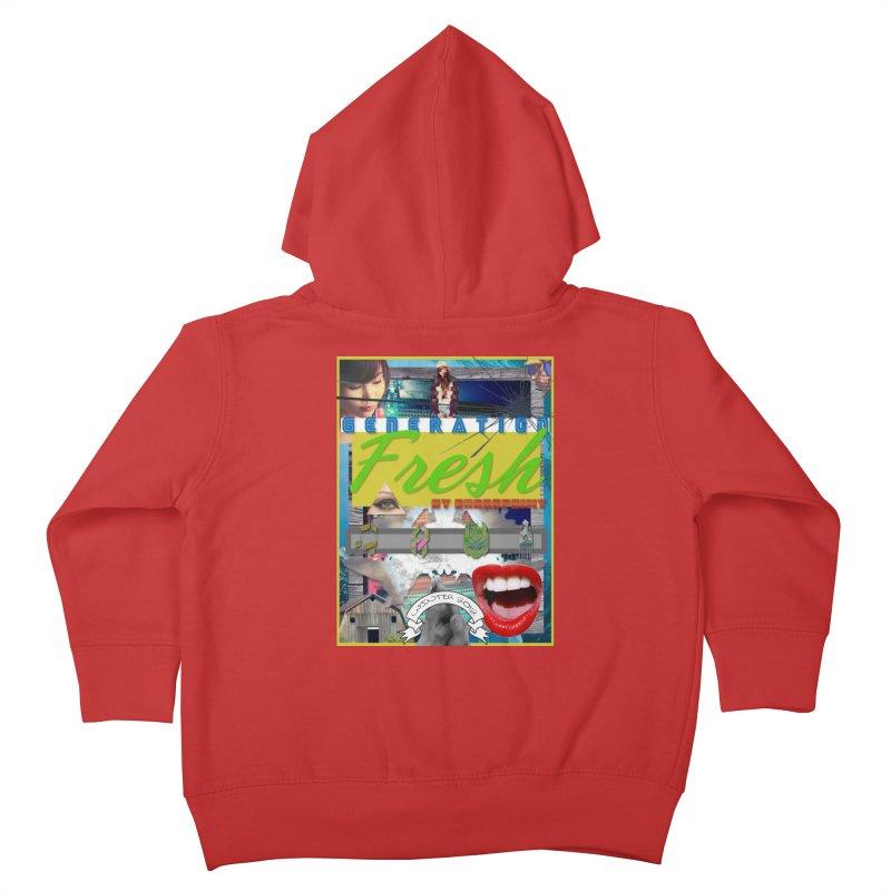 GENERATION Fresh! Kids Toddler Zip-Up Hoody by Shadeprint's Artist Shop
