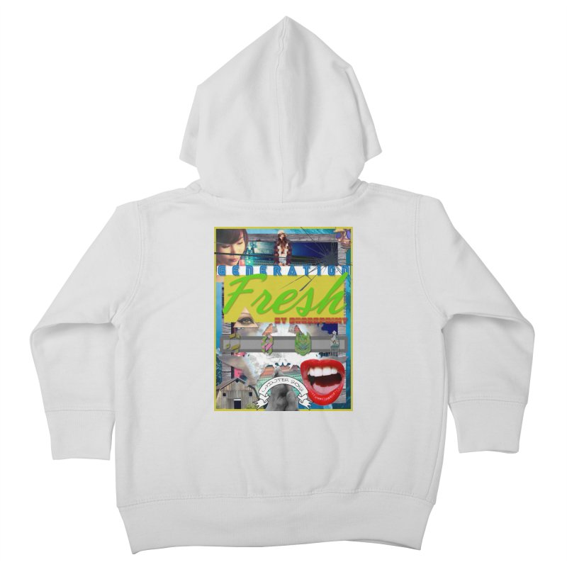 GENERATION Fresh! Kids Toddler Zip-Up Hoody by Shadeprint's Artist Shop