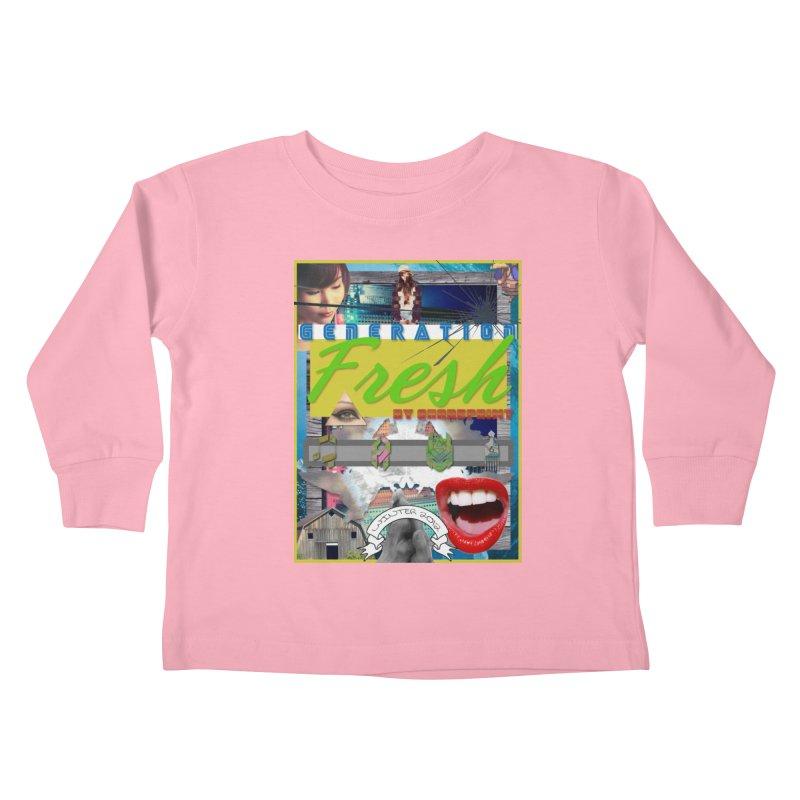 GENERATION Fresh! Kids Toddler Longsleeve T-Shirt by Shadeprint's Artist Shop