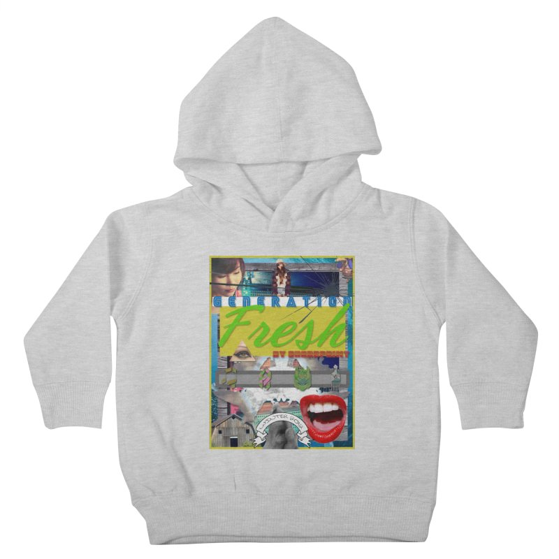 GENERATION Fresh! Kids Toddler Pullover Hoody by Shadeprint's Artist Shop