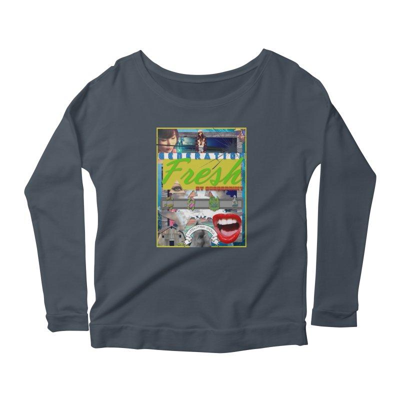GENERATION Fresh! Women's Scoop Neck Longsleeve T-Shirt by Shadeprint's Artist Shop