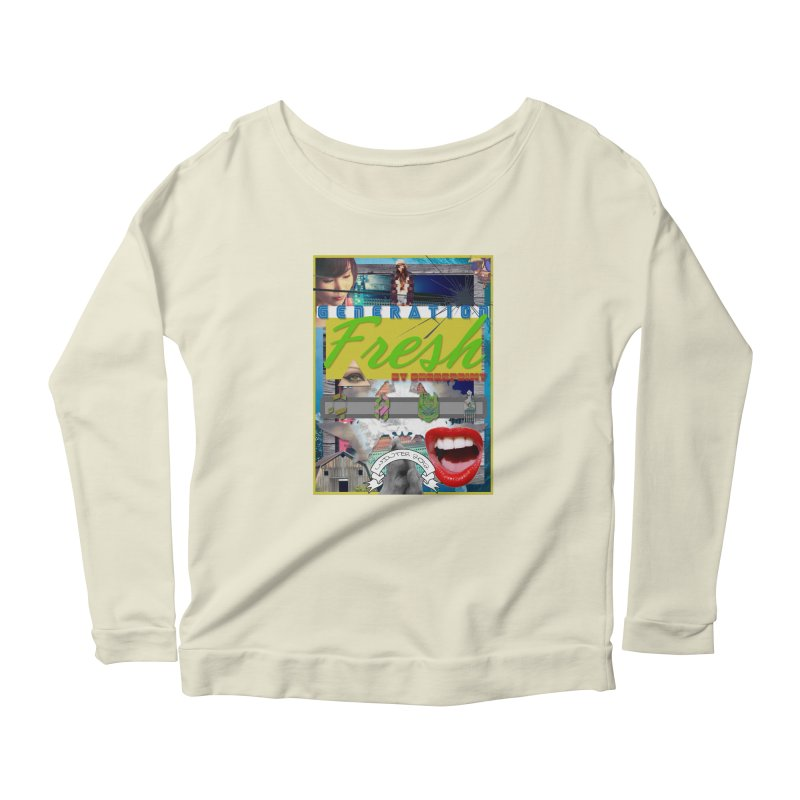 GENERATION Fresh! Women's Scoop Neck Longsleeve T-Shirt by Shadeprint's Artist Shop