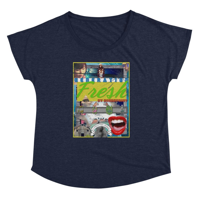 GENERATION Fresh! Women's Scoop Neck by Shadeprint's Artist Shop