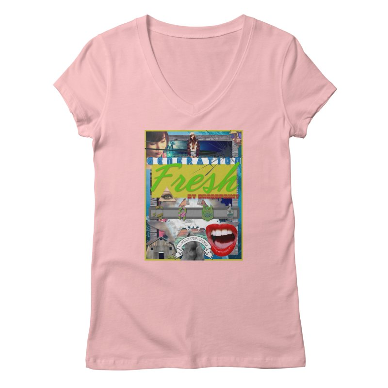GENERATION Fresh! Women's Regular V-Neck by Shadeprint's Artist Shop