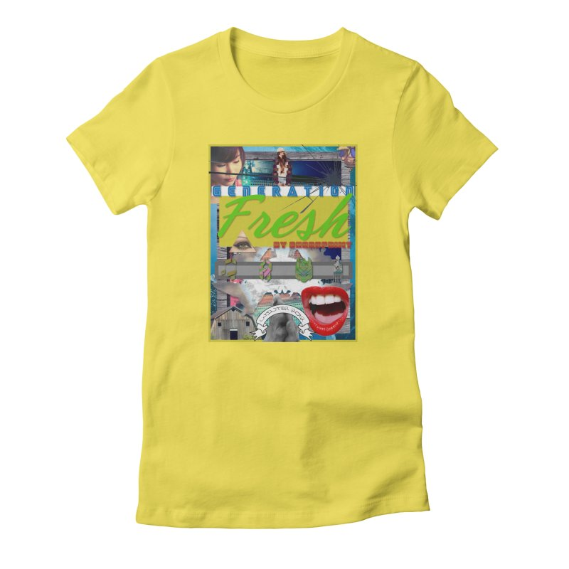 GENERATION Fresh! Women's Fitted T-Shirt by Shadeprint's Artist Shop
