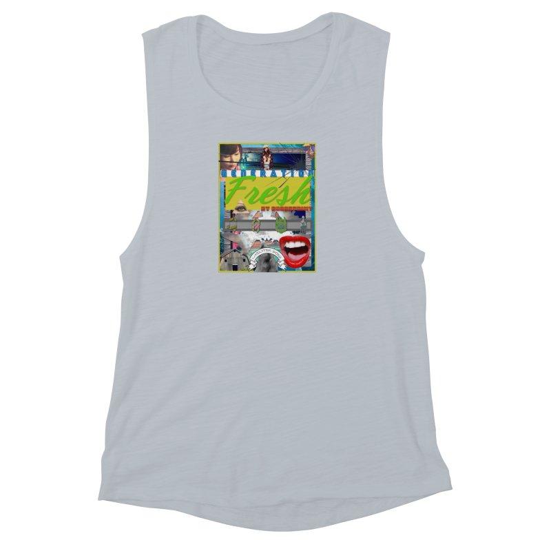 GENERATION Fresh! Women's Muscle Tank by Shadeprint's Artist Shop