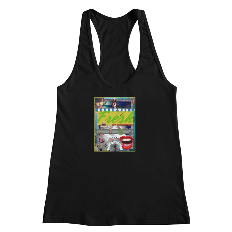 GENERATION Fresh! Women's Racerback Tank by Shadeprint's Artist Shop