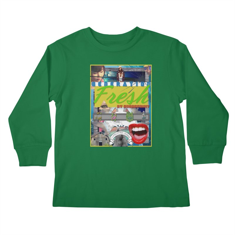 GENERATION Fresh! Kids Longsleeve T-Shirt by Shadeprint's Artist Shop