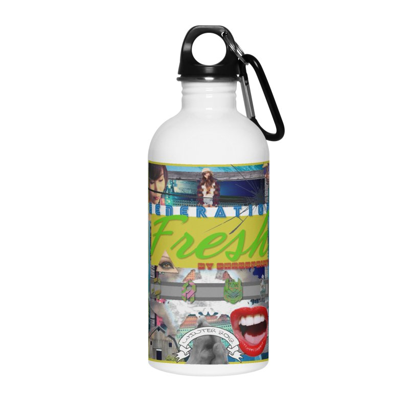 GENERATION Fresh! Accessories Water Bottle by Shadeprint's Artist Shop