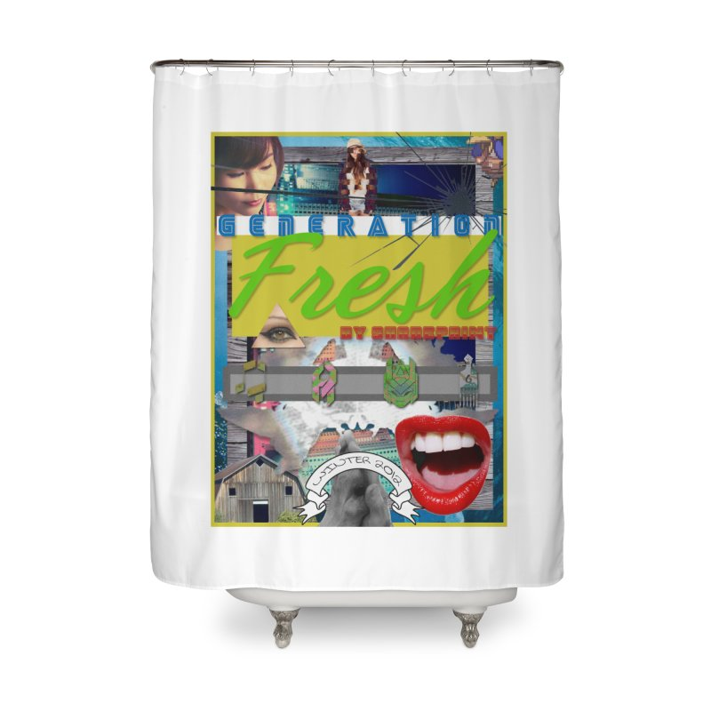 GENERATION Fresh! Home Shower Curtain by Shadeprint's Artist Shop