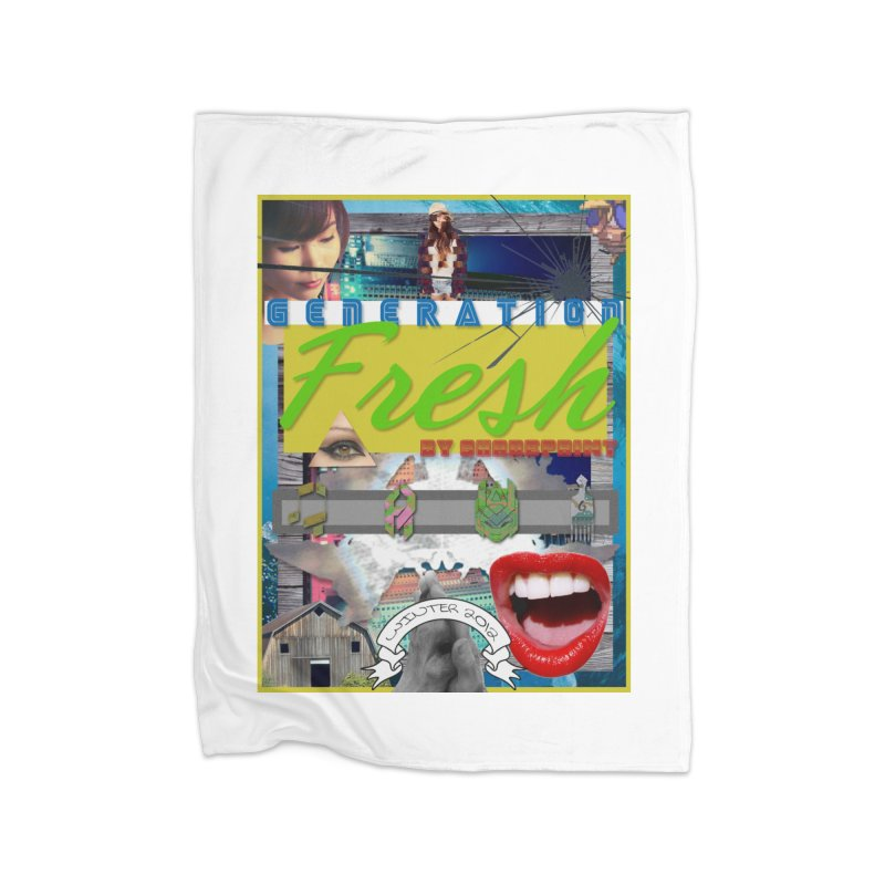 GENERATION Fresh! Home Blanket by Shadeprint's Artist Shop